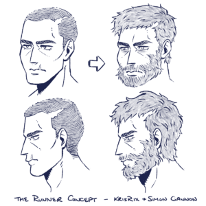 The Runner - character concepts